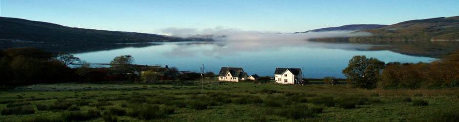 House On Loch Fyne